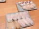 ヒラメのお寿司